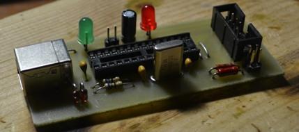 USB Программатор микроконтроллеров AVR