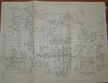 Осциллограф С1-68 схема