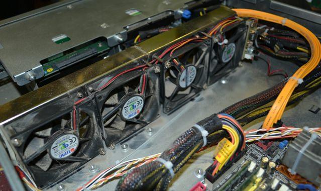 Вентиляторы 80-мм