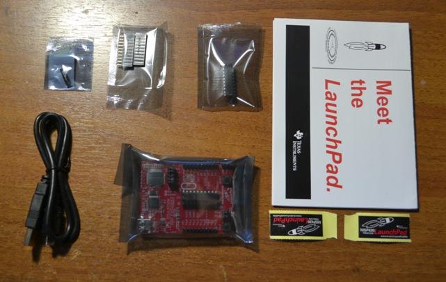 MSP-EXP430G2 комплектация