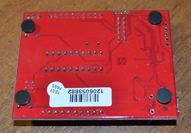 MSP-EXP430G2 вид снизу